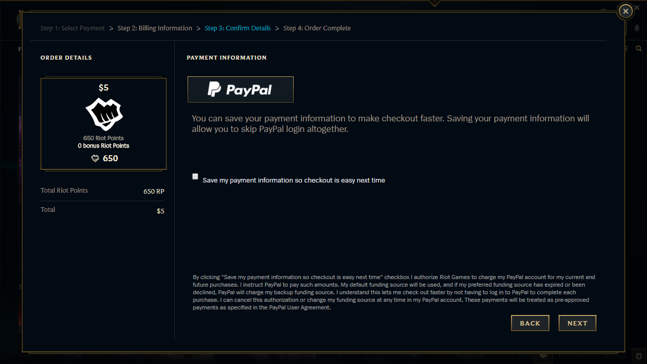 Top PayPal – Riot Games Support FU26