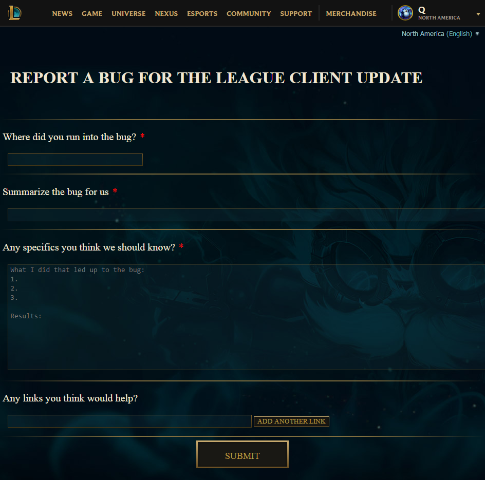 Riot games matchmaking