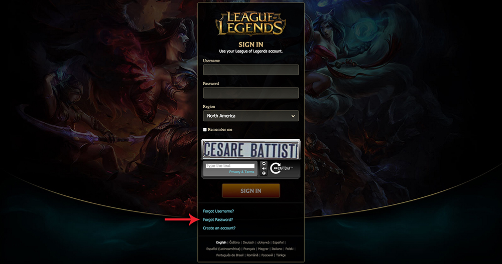 league of legends how to change your name