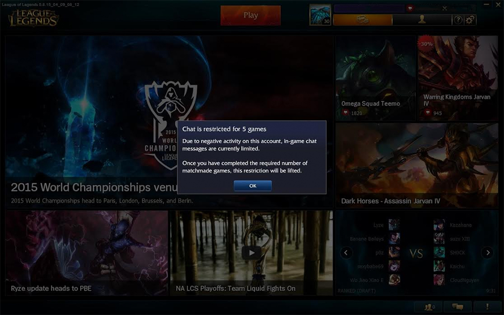 lol matchmaking diamond Why is riot's matchmaking so bad  2 now rankes and they have a plat and a diamond yay i love this  riot games, league of legends and pvpnet are.